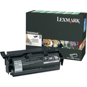 Lexmark High Yield Return Program Black Toner Cartridge LEXT650H04A