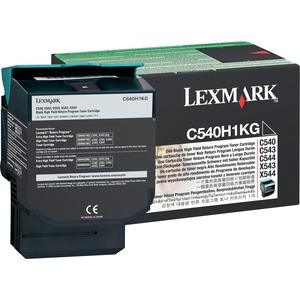 Lexmark Toner Cartridge - Black LEXC540H1KG