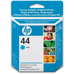 HP 44 Ink Cartridge - Cyan HEW51644C