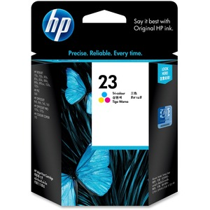 HP 23 Ink Cartridge - Multicolor HEWC1823D