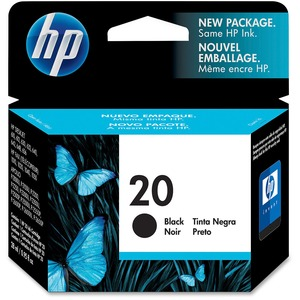 HP 20 Black Ink Cartridge HEWC6614D