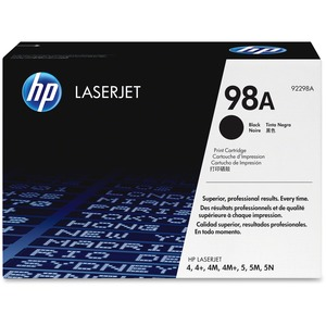 HP 98A Toner Cartridge - Black HEW92298A