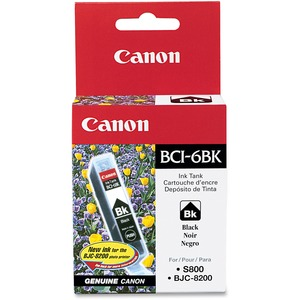 Canon BCI-6Bk Ink Cartridge - Black CNMBCI6BK