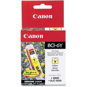 Canon BCI-6Y Ink Cartridge - Yellow CNMBCI6Y
