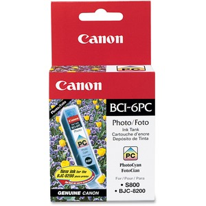 Canon BCI-6PC Ink Cartridge - Cyan CNMBCI6PC