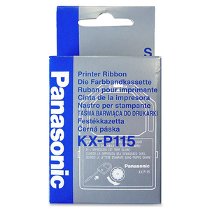 Panasonic Ribbon Cartridge - Black PANKXP115
