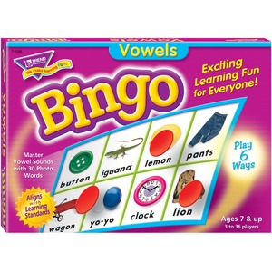Trend Vowels Bingo Game TEP6066
