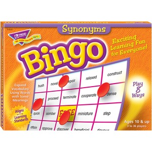 Trend Synonyms Bingo Game TEP6131