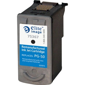 Elite Image Remanufactured Canon PG50 Inkjet Cartridge ELI75367