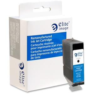 Elite Image Ink Cartridge - Remanufactured for Canon - Black ELI75368
