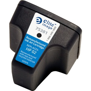 Elite Image Ink Cartridge - Remanufactured for HP - Black ELI75381
