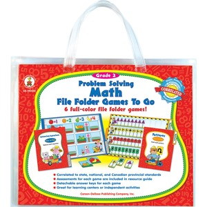 Carson-Dellosa Problem Solving Math Game CDP140032