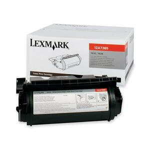 Lexmark Toner Cartridge - Black LEX12A7365