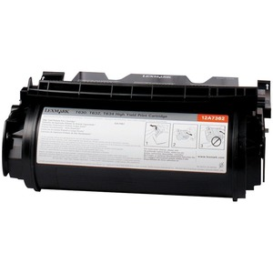 Lexmark Black Toner Cartridge LEX12A7362