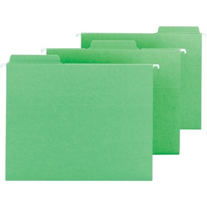 Smead 64098 Green FasTab Hanging Folders SMD64098