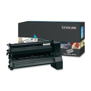 Lexmark XL Extra High Yield Return Program XL Cyan Toner Cartridge LEXC782U1CG