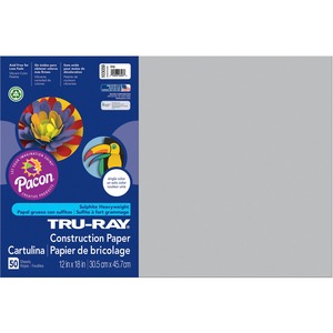 Pacon Tru-Ray Sulphite Construction Paper PAC103059