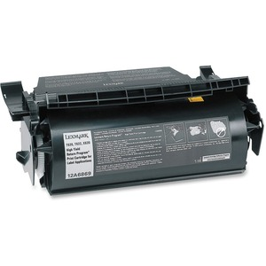 Lexmark Black Toner Cartridge LEX12A6869