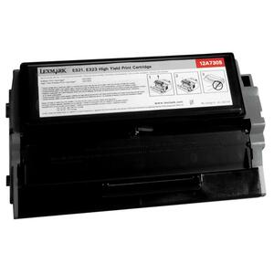 Lexmark Black Toner Cartridge LEX12A7400