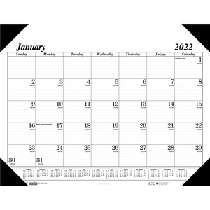 House of Doolittle Desk Pad Calendar HOD124