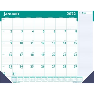 House of Doolittle Express Track Desk Pad Calendar HOD148