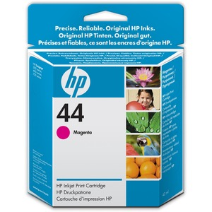 HP 44 Magenta Ink Cartridge HEW51644M