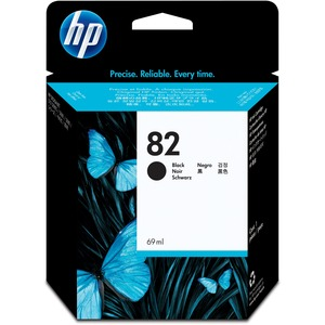 HP 82 Black Ink Cartridge HEWCH565A