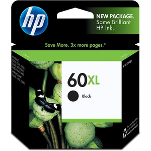 HP 60XL Ink Cartridge - Black HEWCC641WN