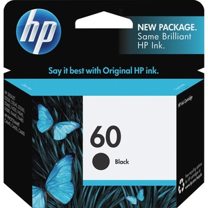 HP 60 Black Original Ink Cartridge HEWCC640WN