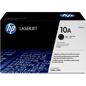 HP 10A (Q2610A) Black Original LaserJet Toner Cartridge HEWQ2610A