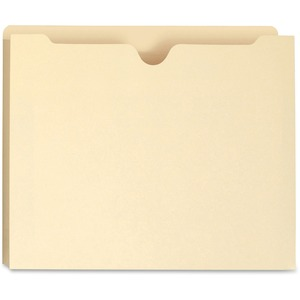 Smead 75605 Manila 100% Recycled File Jackets SMD75605