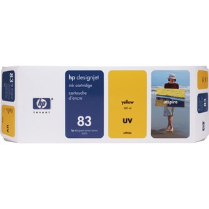 HP 83 Yellow Ink Cartridge HEWC4943A