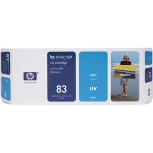 HP 83 Ink Cartridge - Cyan HEWC4941A
