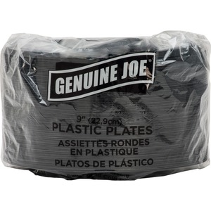 Genuine Joe Round Plate GJO10429