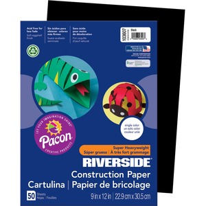 Riverside Groundwood Construction Paper PAC103607