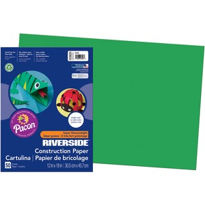 Riverside Groundwood Construction Paper PAC103620