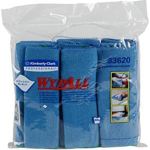 Kimberly-Clark Wypall Microfiber Cloth KIM83620