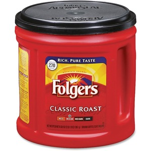 Folgers Classic Roast Coffee Ground FOL00367EA