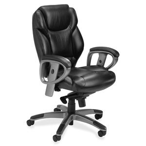 Mayline Ultimo 300 Series UL330M Mid Back Chair MLNUL330MBLK