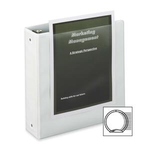 Cardinal BasicValue ClearVue Round Ring Binder CRD01500