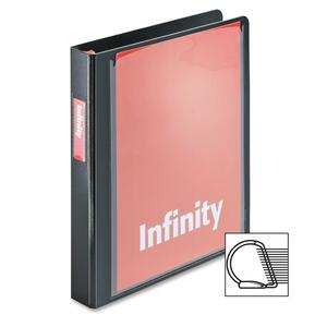 Cardinal Infinity ClearVue Locking Slant-D Ring Binder CRD34101