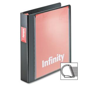 Cardinal Infinity ClearVue Binder with Locking Slant-D Shape Rings CRD34111