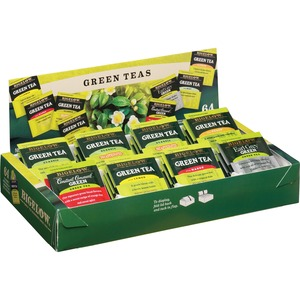 Bigelow Tea Assorted Green Tea Tray Pack BTC30568