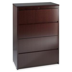 Lorell Four Drawer Lateral File LLR87817