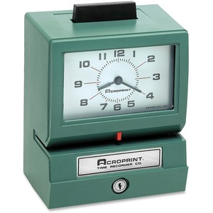 Acroprint Manual Time Clock & Recorder ACP011070411