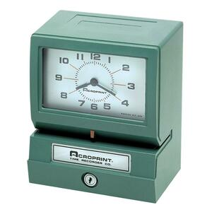 Acroprint Electronic Time Clock & Recorder ACP01207040A