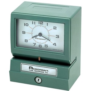 Acroprint Electronic Time Clock & Recorder ACP012070411