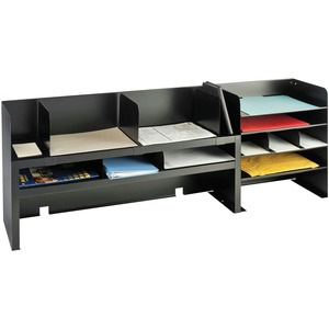 MMF Raised Shelf Design Desk Organizer MMF2061DOBK