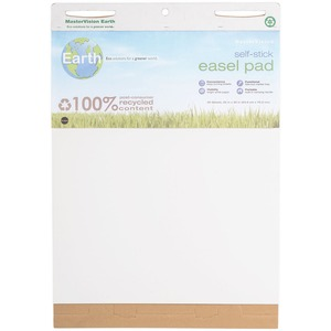 MasterVision Earth 100% PC Easel Pad BVCFL1218207