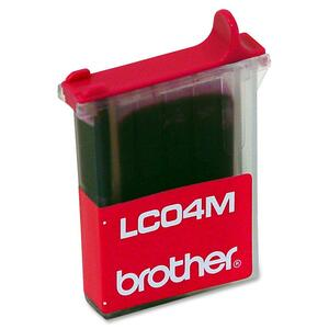 Brother Magenta Ink Cartridge BRTLC04M